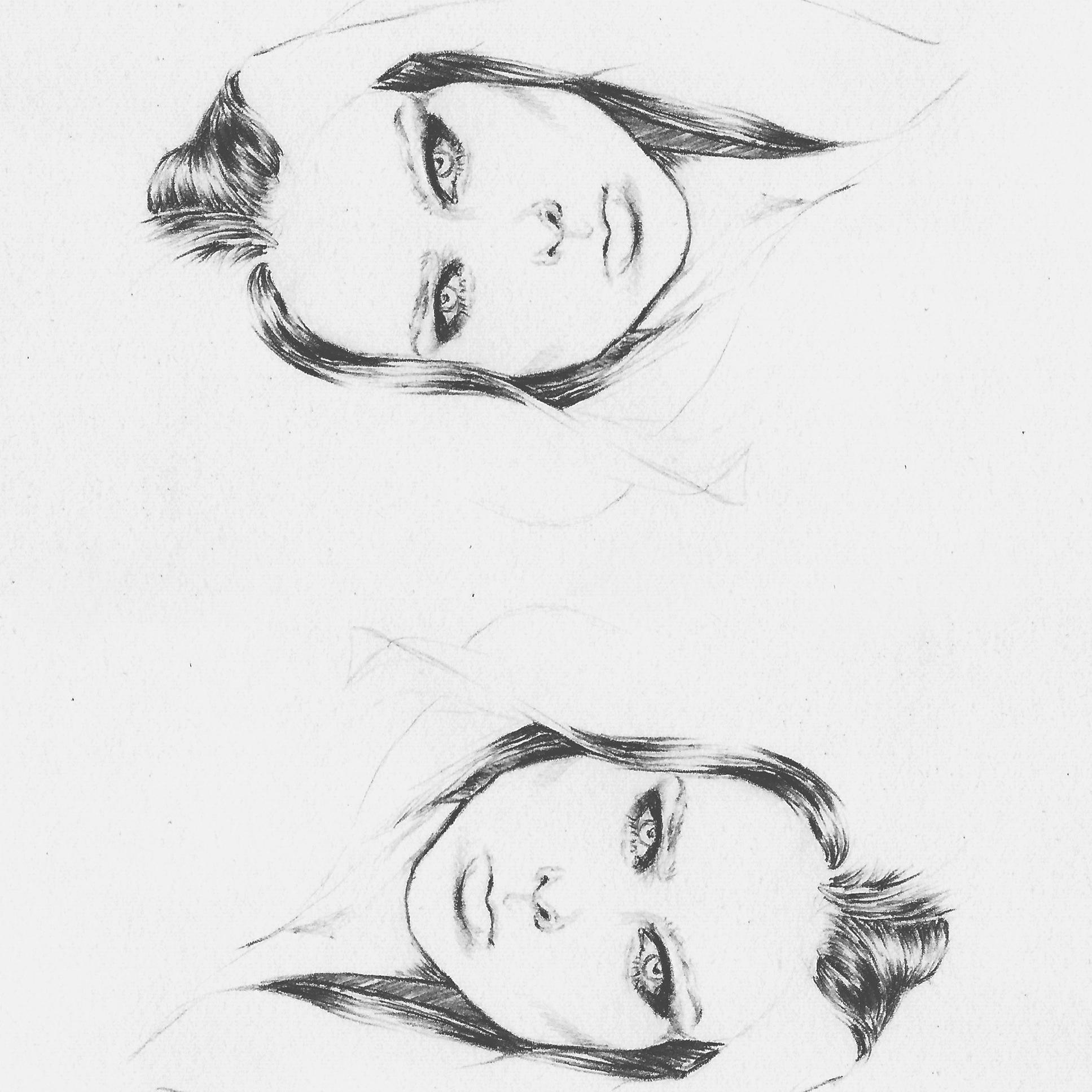 Dessin illustration Coco rocha