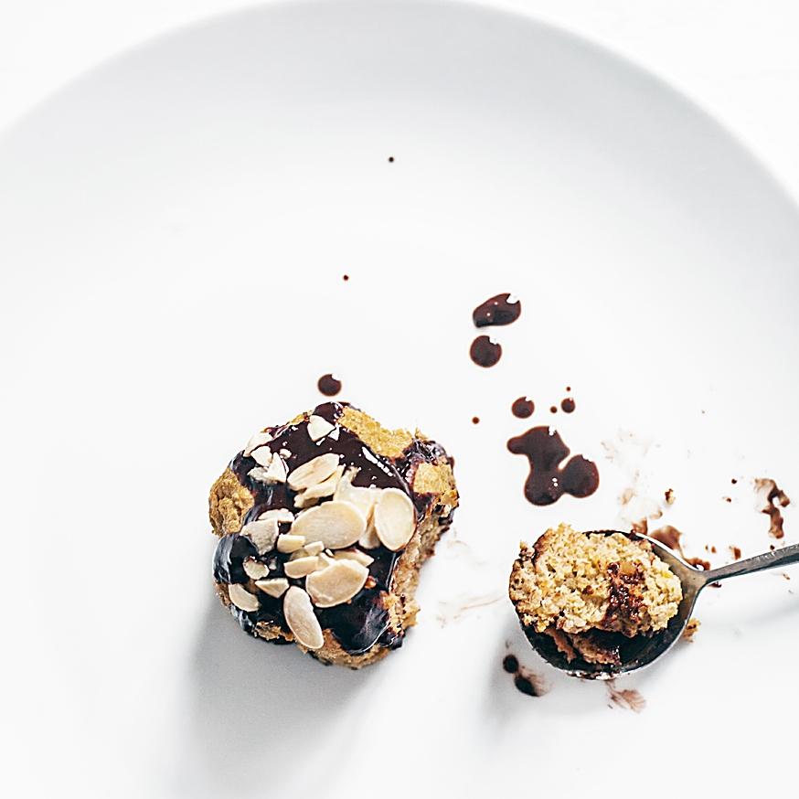Gâteau healthy pâtate douce chocolat noir