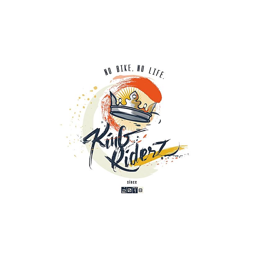 Logo King Riderk Gwad Riderz graphiste