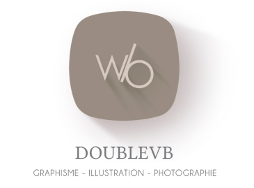 Logo Doublevb Wynonnah Bourgarel graphisme illustration photographie guadeloupe